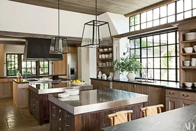 kitchen pendents aid cover 31 kitchens with pretty pendant lighting architectural digest sconces from urban electric co illuminate the sink areas and lights designed by rela