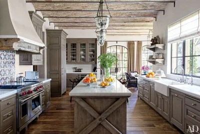 country kitchen sinks antique appliances 19 inspiring farmhouse sink ideas architectural digest in gisele bundchen and tom brady s los angeles residence a adds to the charm