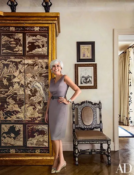Look Inside Linda Pintos Luxurious Parisian Apartment  Architectural Digest