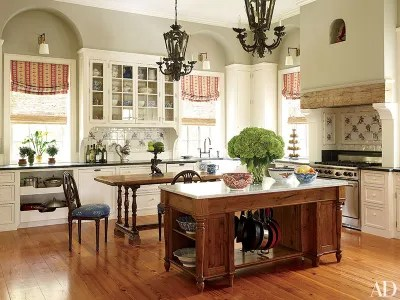 pictures of kitchen islands ninja professional system 1500 28 stunning island ideas architectural digest andy lewis neumann buchanan architects created a new wing for this historic home