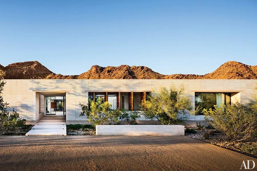 12 Dazzling Desert Home Exteriors Photos Architectural Digest