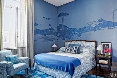 Bedroom Decorating Inspiration Soothing Shades Of Blue Architectural Digest