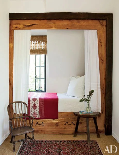 Cozy Beds In Wall Nooks For Small Bedrooms Architectural Digest