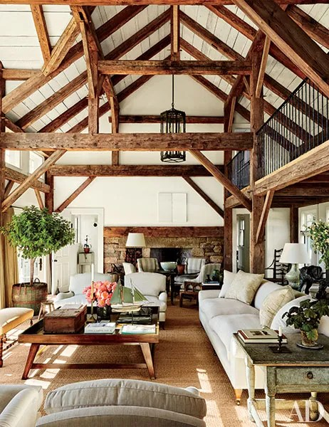 Wood Beam Ceiling Ideas With a Touch of Rustic Charm
