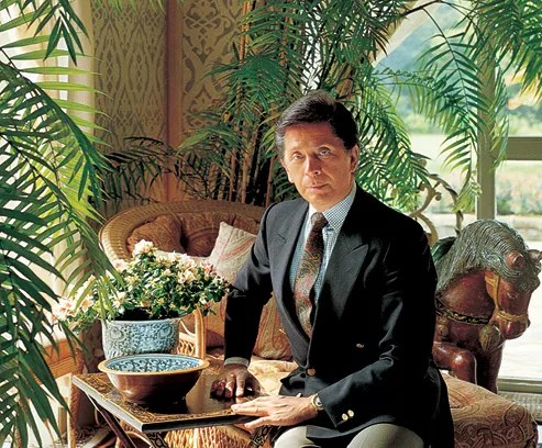 At Home with Valentino  Architectural Digest