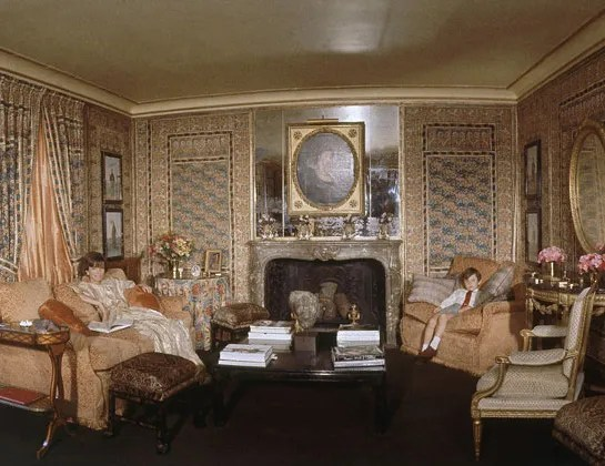Lee Radziwills London Drawing Room at 4 Buckingham Place