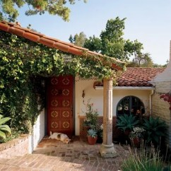 Kitchen Renovation Los Angeles Appliance Covers Tour Candice Bergen's Spanish-style Residence In ...