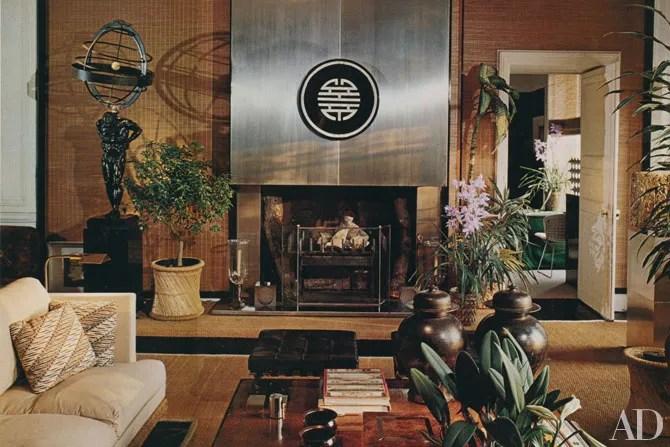 kitchen table and chair set corner hutch françois catroux's paris apartment | architectural digest