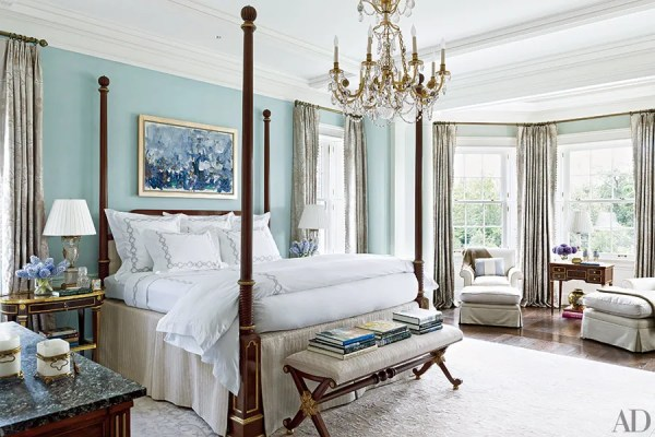 architectural digest bedroom designs Bedroom Decorating Inspiration: Soothing Shades of Blue Photos | Architectural Digest