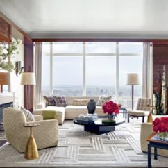 Living Room Floor Lamp Small Lounge Chair Beautiful Rooms With Lamps Architectural Digest Breathtaking City Views Unfold Across The S To Ceiling Windows Which Are Curtained In An Armani Casa Fabric 1940s French Mahogany