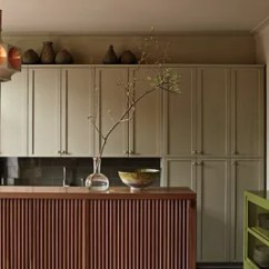 Can I Paint My Kitchen Cabinets Washable Rugs Painted Cabinet Ideas Architectural Digest In The Manhattan Of Barneys New York Ceo Mark Lee And Ed Filipowski Copresident Fashion P R Events Firm Kcd Are