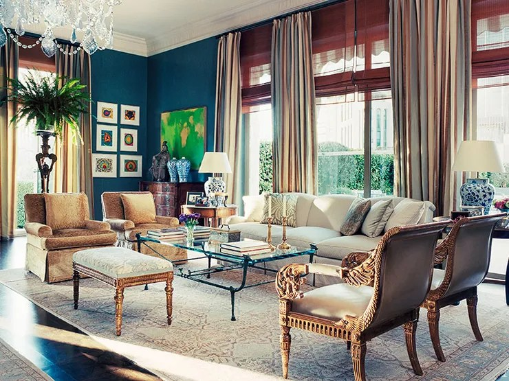 James Costos And Interior Decorator Michael S Smith At