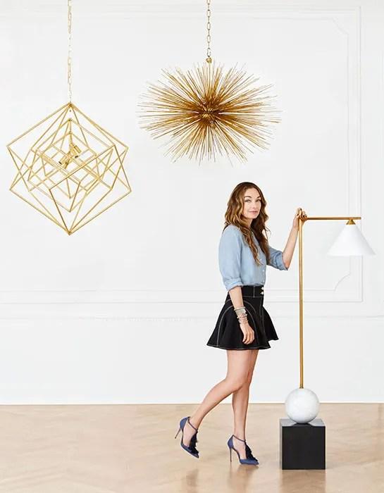 Take A Sneak Peek At Kelly Wearstlers Debut Lighting