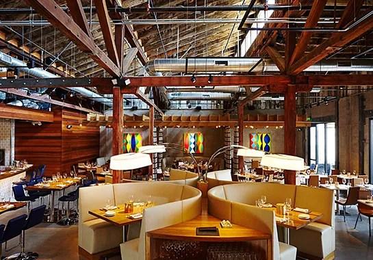 Restaurant Juniper  Ivy Brings Glamorous Decor to an