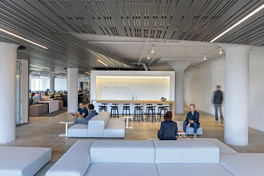 Wired Unveils Its StateoftheArt Offices Designed by