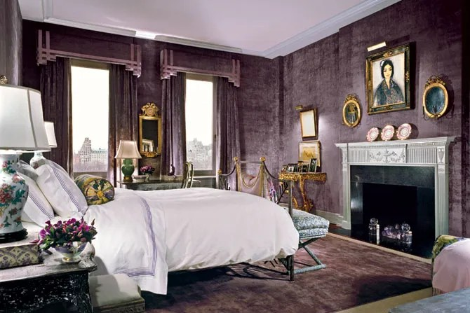 Lush Velvet Rooms from the Pages of AD  Architectural Digest