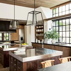 Kitchen Open Shelves Joseph Knives Shelf Ideas For Decorating And Organizing Architectural Digest In A Napa Valley Flank Sink Area Which Is Illuminated By Sconces