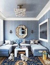 30 Rooms That Showcase Blue-and-White Decor ...