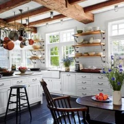 Subway Tile For Kitchen Ninja Mega System Bl771 23 Ways To Decorate With Architectural Digest In The Of Lynn And Sir Evelyn De Rothschilds Marthas Vineyard Massachusetts Home Which Was