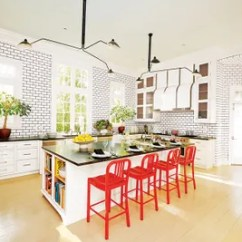 Subway Tile For Kitchen Bosch Appliances 23 Ways To Decorate With Architectural Digest Lines The Of A Familys Houston Home Which Was Renovated By Eubanks Group