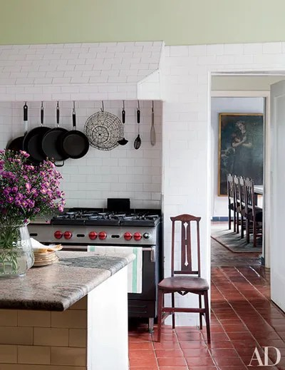 subway tile for kitchen renovation costs nj 23 ways to decorate with architectural digest singer sheryl crows hollywood california estate features a enhanced by and commercialstyle