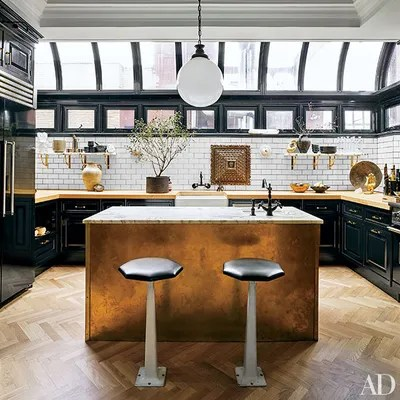 subway tile for kitchen beautiful rugs 23 ways to decorate with architectural digest the of designers nate berkus and jeremiah brent s new york apartment is outfitted from home depot