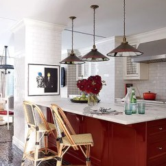 Subway Tile For Kitchen Hotels With Full Kitchens 23 Ways To Decorate Architectural Digest White Lines The Walls In Of Trey And Jenny Lairds Manhattan Townhouse