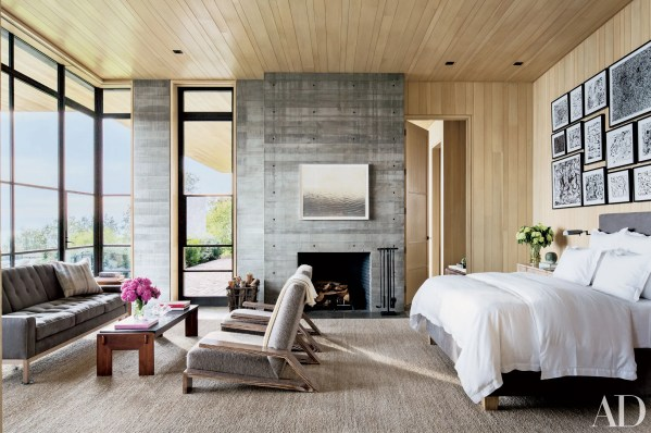 architectural digest bedroom designs Bedroom Fireplace Ideas and Designs Photos | Architectural Digest