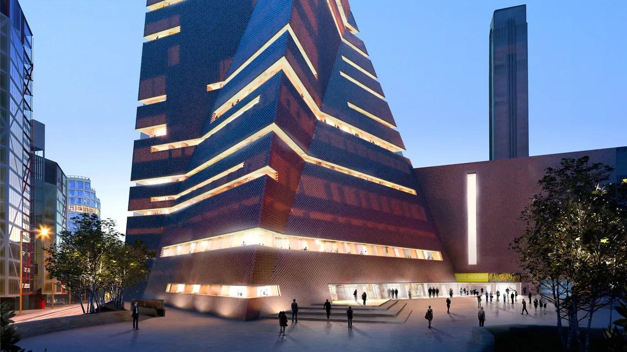 London Tate Modern Expansion Opening June 2016