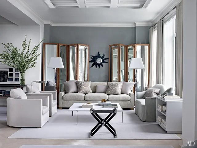 jean michel frank style sofa what is sectional inspiring gray living room ideas photos | architectural digest