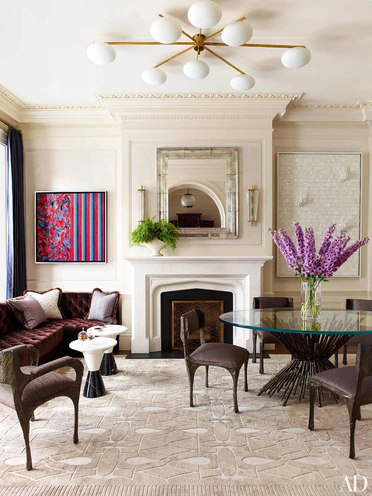 New York Townhouse Restored by Peter Pennoyer and Shawn