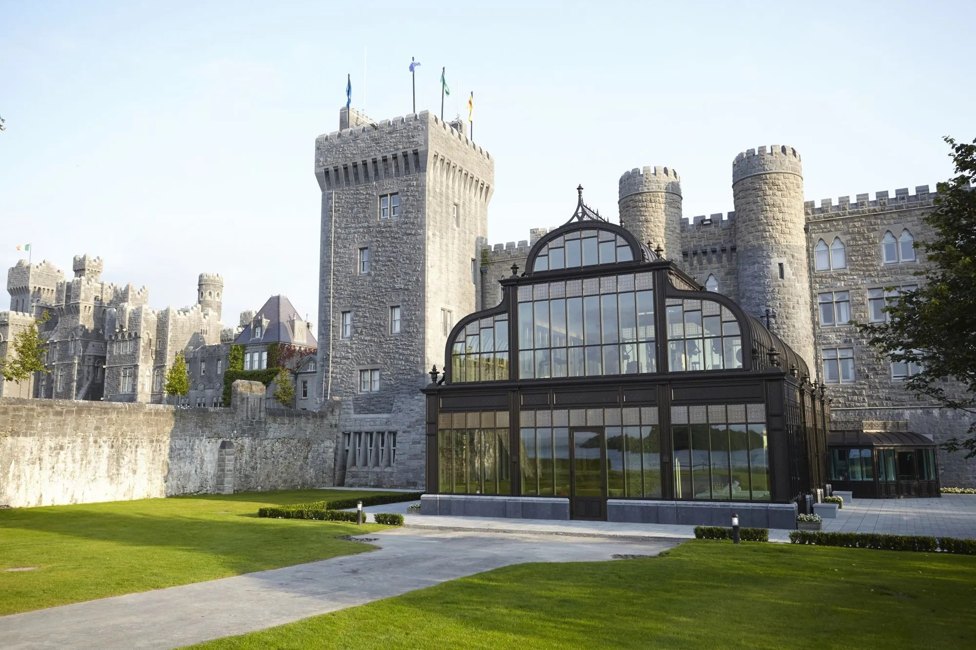 Ashford Castle New Spa  Architectural Digest