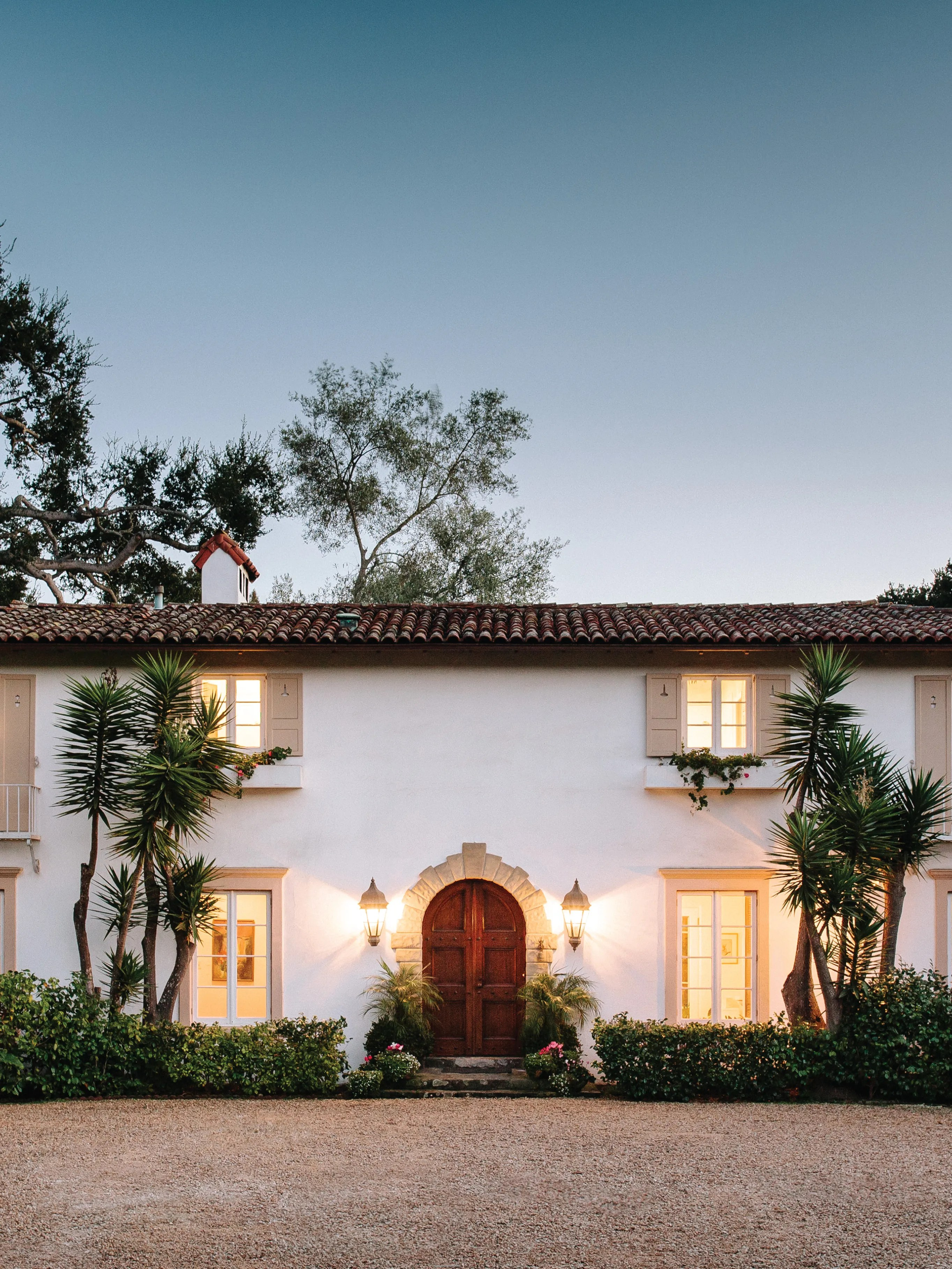 Spanish Mission Style House : spanish, mission, style, house, Spanish, Colonial, Style, Santa, Barbara, Architectural, Digest