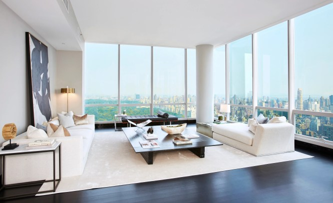 One57 New York Luxury Apartment For Architectural Digest