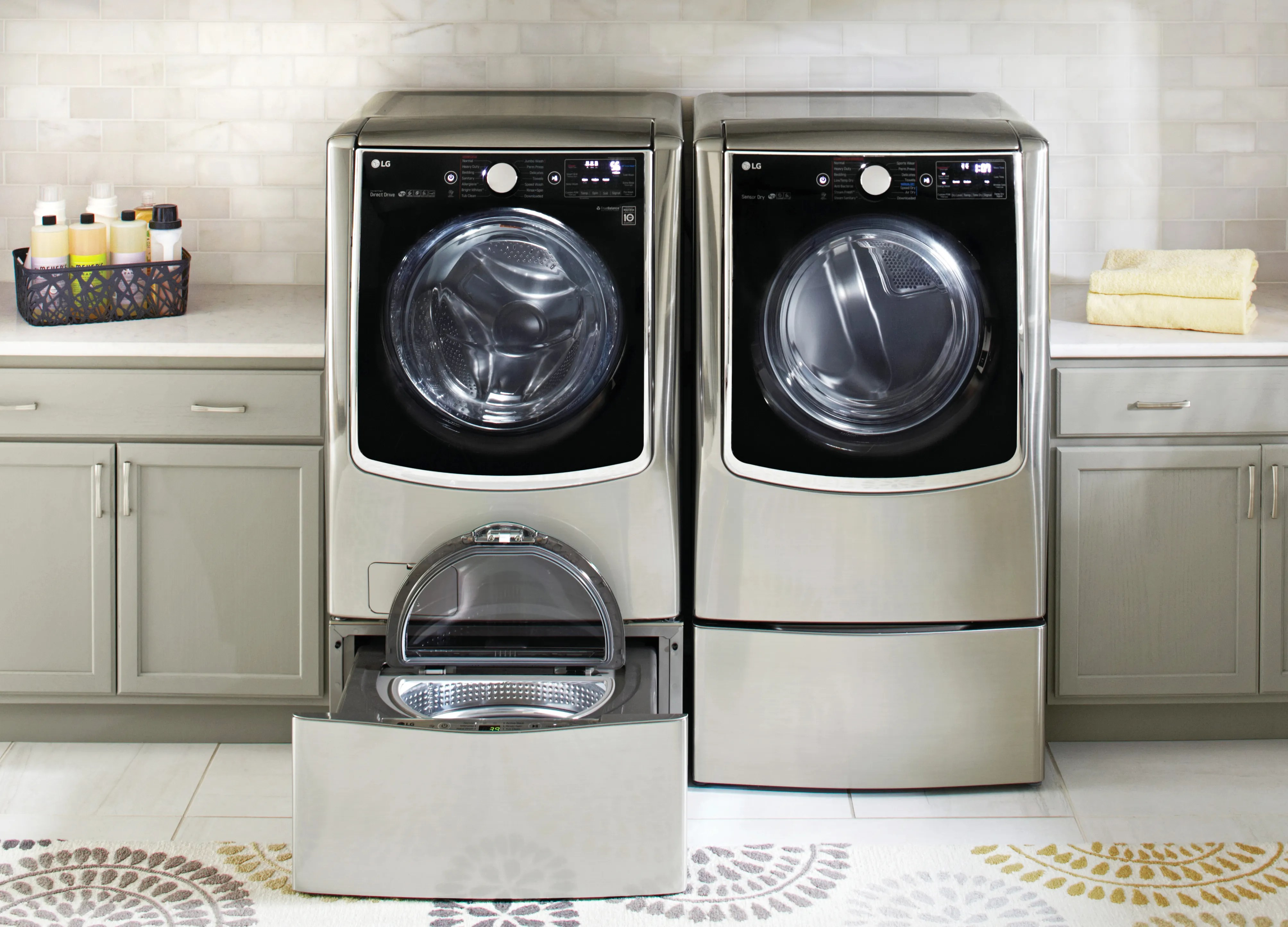 Lg Twin Wash Laundry Machines