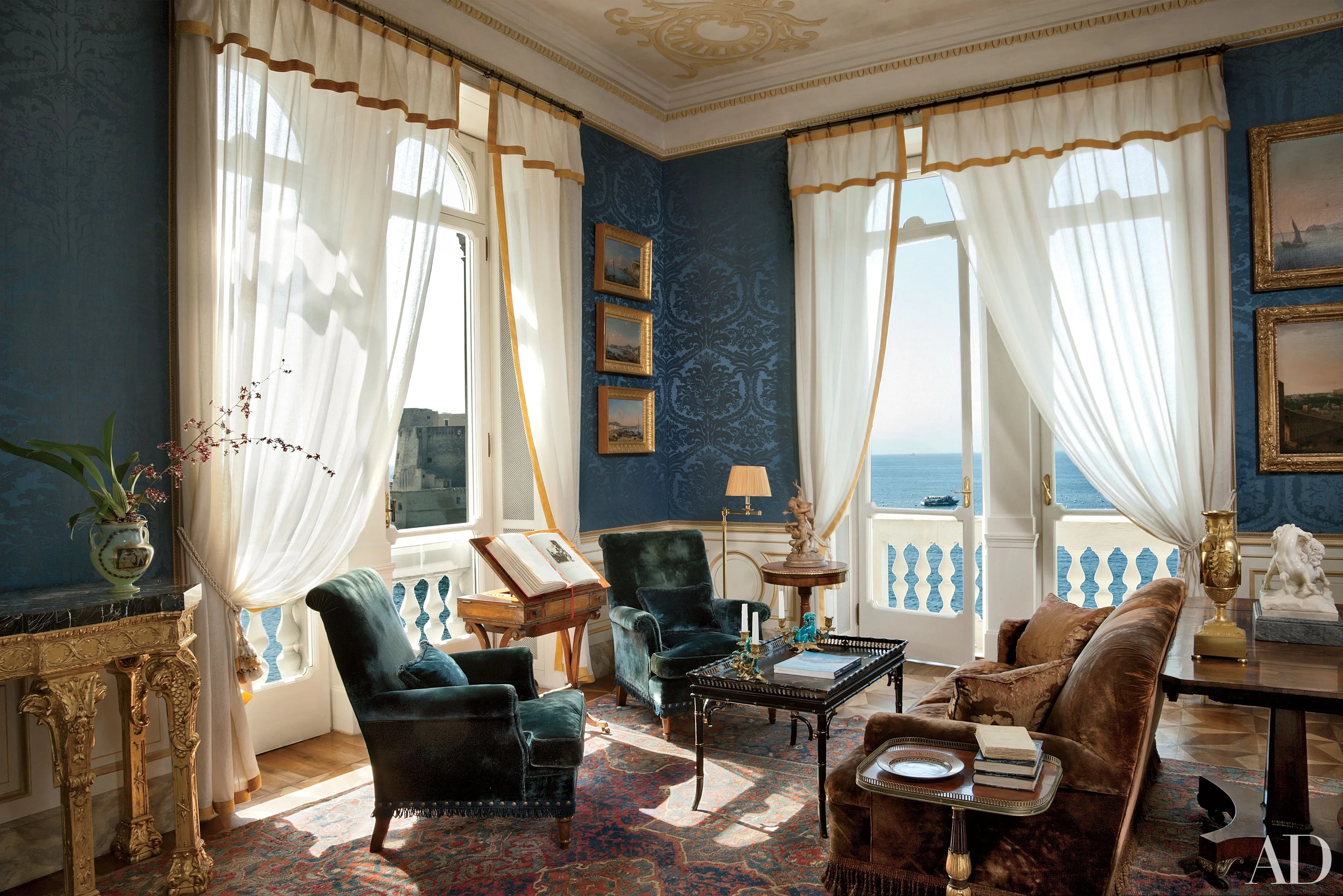 19 Romantic Rooms In Italian Homes Photos Architectural