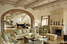 Italian Farmhouse Living Room