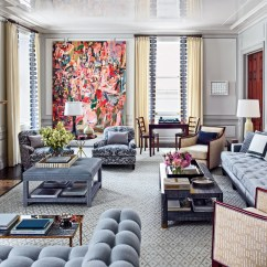 Navy Blue Leather Club Chair Canopy Beach 11 Chic Interiors By Designer S. R. Gambrel Inc. Photos | Architectural Digest