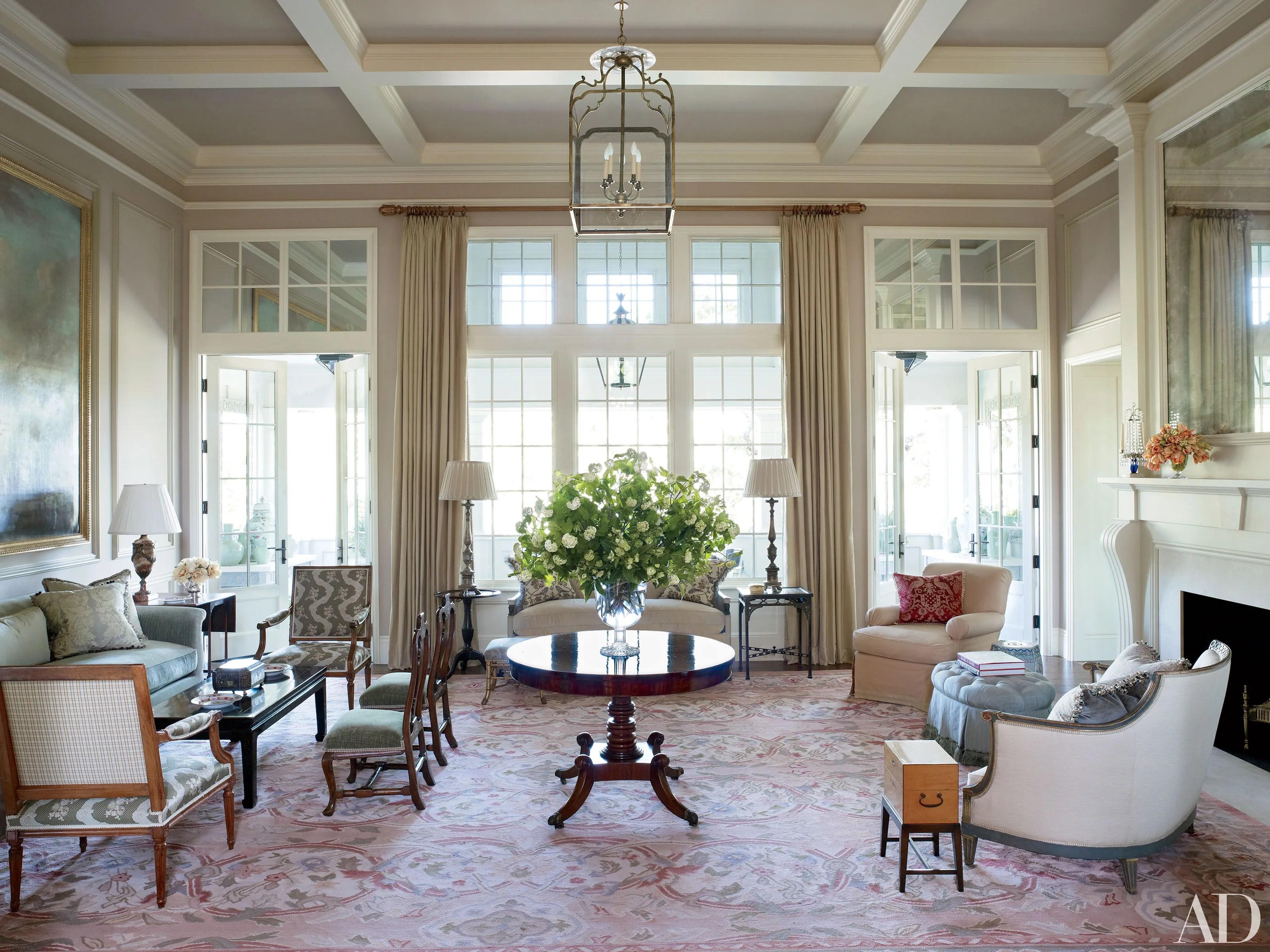 Traditional Interiors by Suzanne Rheinstein  Associates