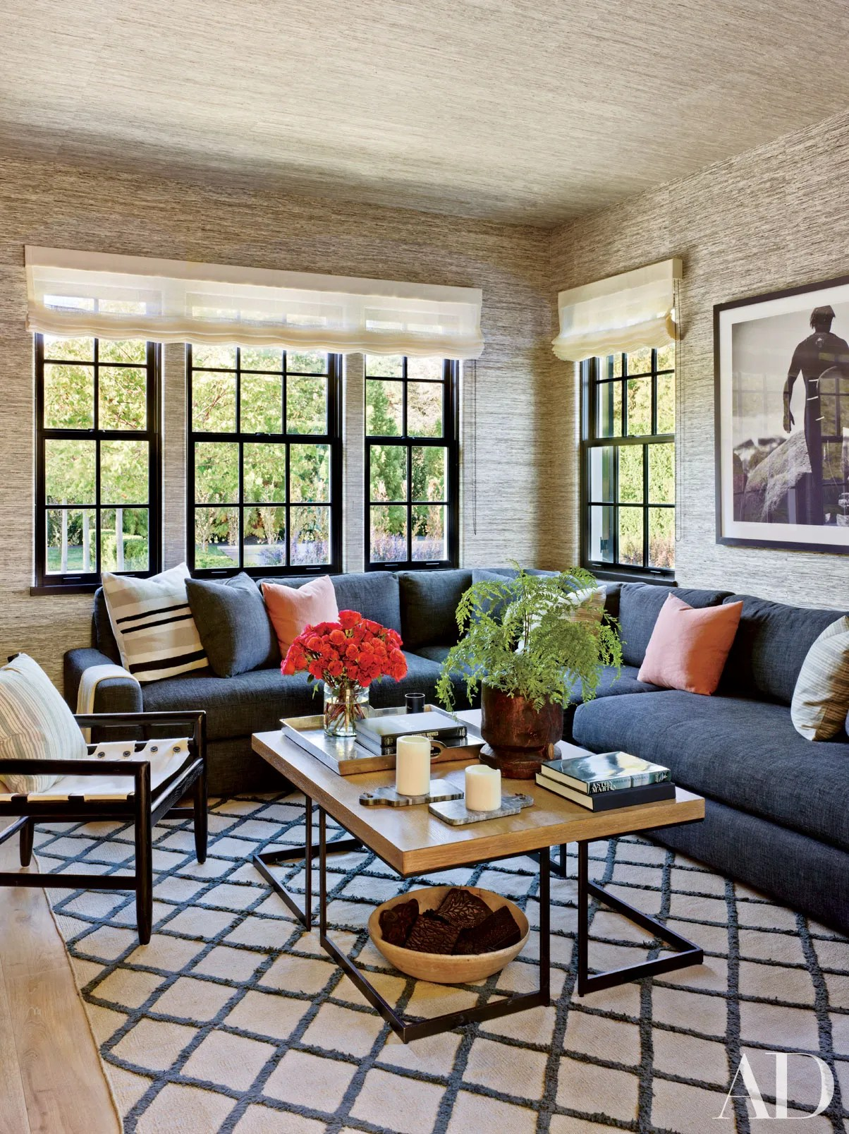 donate sofa in nyc klaussner holly reviews 2017ad100 sawyer berson architectural digest