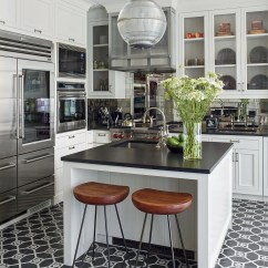 Black Kitchen Countertops Islands With Sink Inspiration Photos