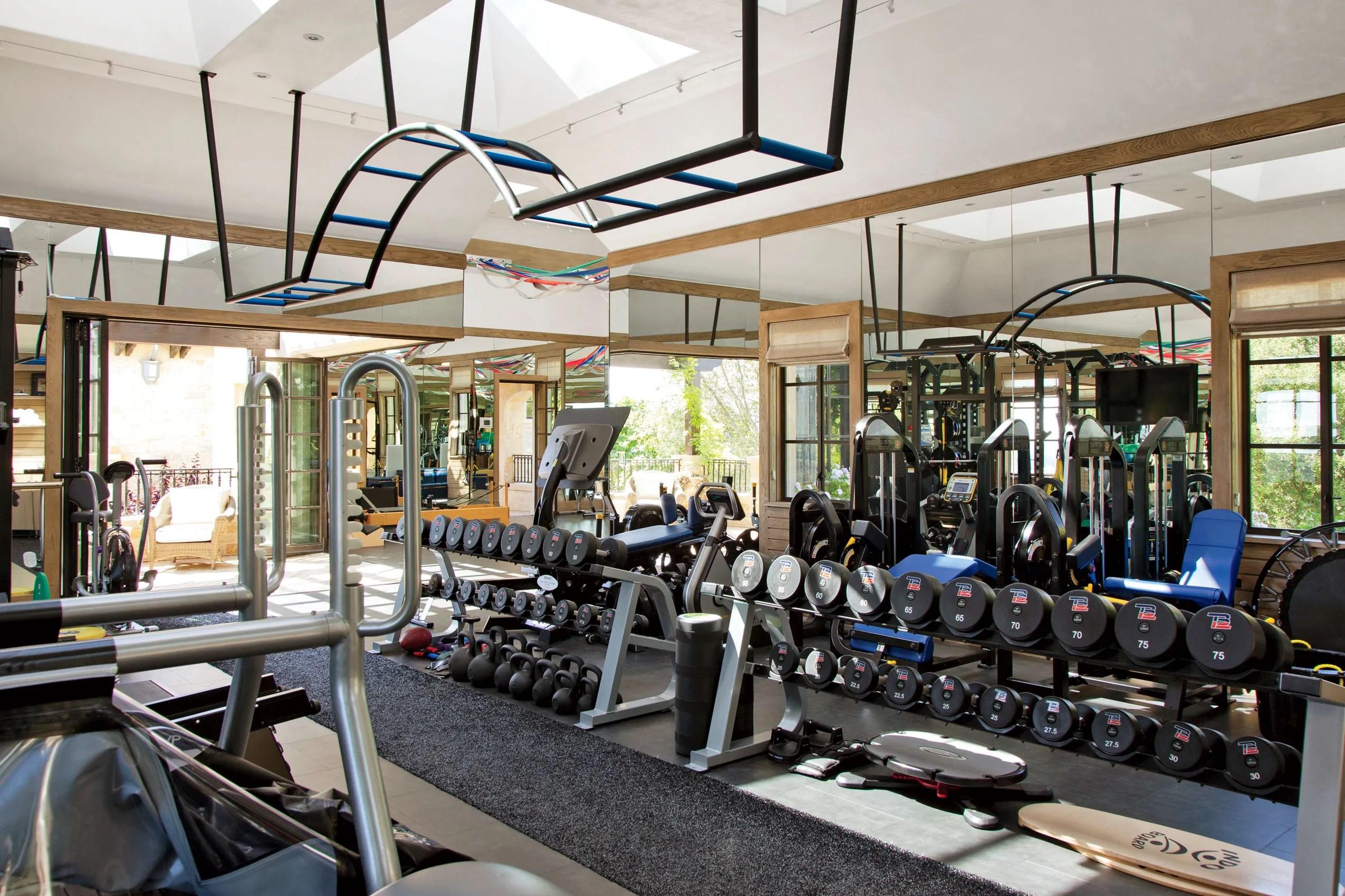Home Gym Design Ideas Photos  Architectural Digest