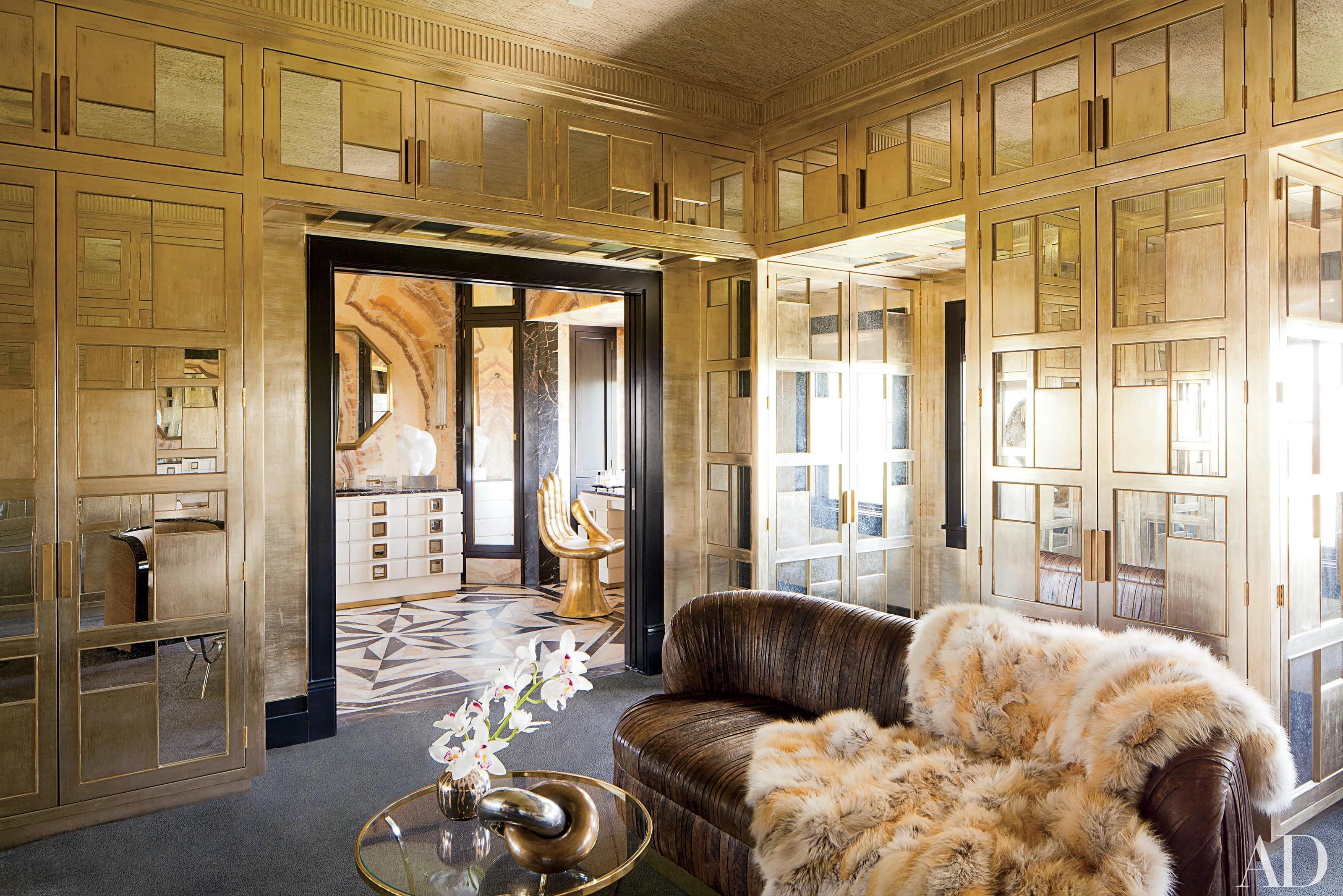 Silver And Gold Decor Ideas  Metallic Home Design Photos