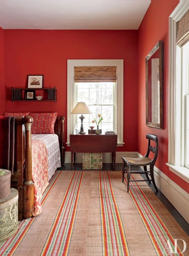 Red Room Decoration Inspiration Photos Architectural Digest