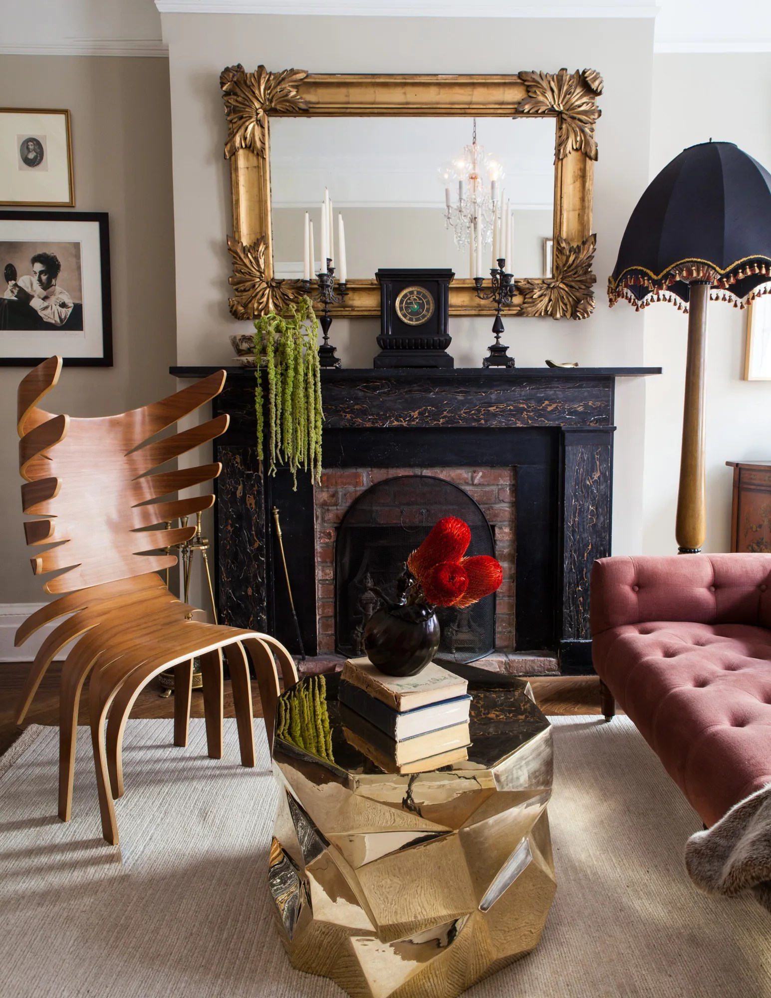 chairs for heavy guys crushed velvet chair covers ebay interior designer jamie drake joins forces with caleb anderson under + photos ...