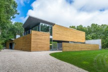 Modern Homes with Cedar Siding