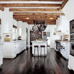 Design Kitchen Salamander White Kitchens Ideas Architectural Digest At His Home In Amagansett New York Talent Agent Sandy Gallin Warmed Up A