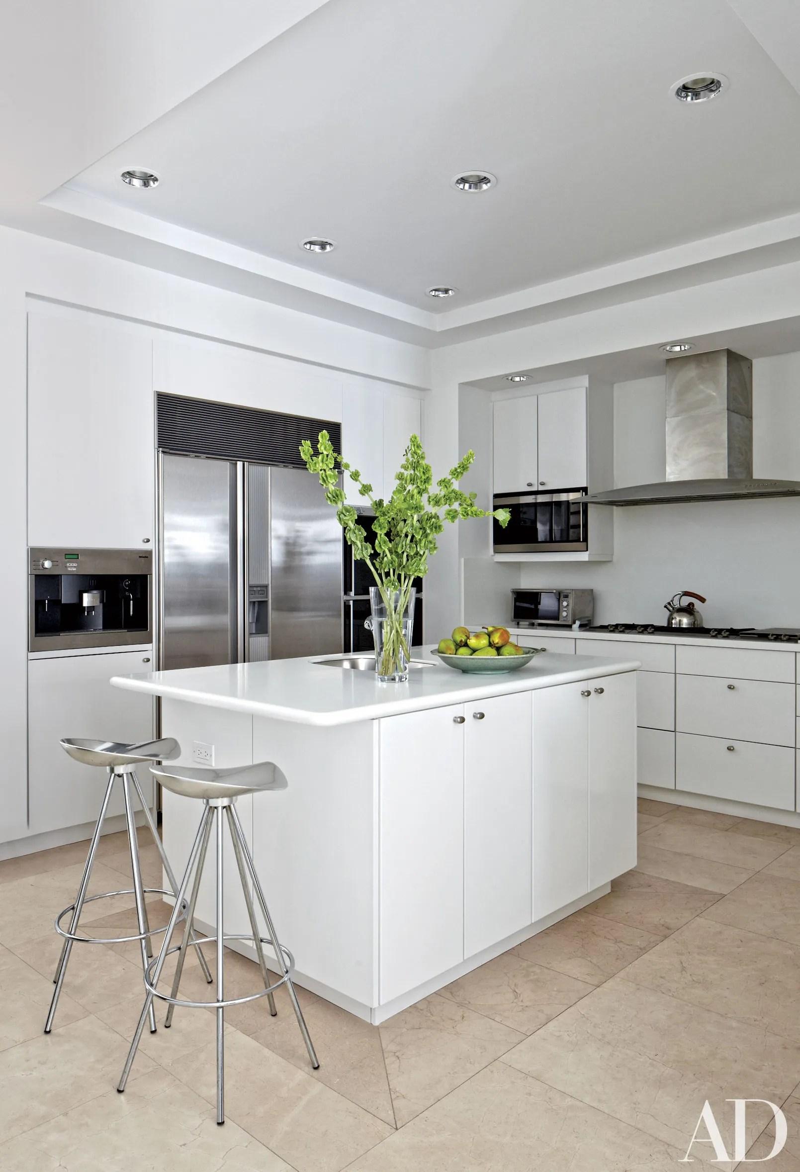 white kitchen cabinets ideas door knobs kitchens design photos architectural digest
