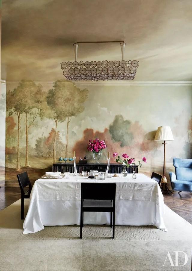 Wall Mural Home Design Ideas Photos