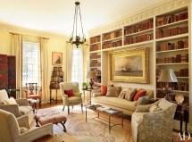 Home Library Bookshelf Design Architectural Digest